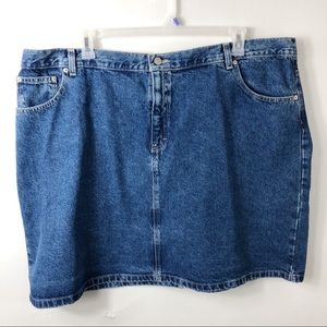 Tommy Hilfiger Denim Skirt Cotton Plus 24